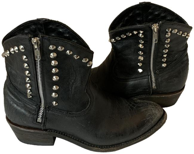 Ash Black 120619 Crosby Western Studded Ankle Boots/Booties Size EU 41 (Approx. US 11) Regular (M, B) Ash Black 120619 Crosby Western Studded Ankle Boots/Booties Size EU 41 (Approx. US 11) Regular (M, B) Image 1
