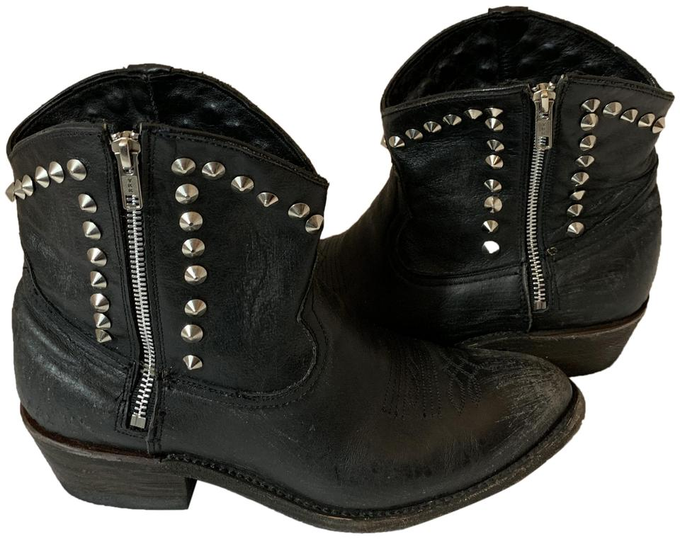 91b832ed6a0 Ash Black 121619 Crosby Western Studded Ankle Boots/Booties Size EU 41  (Approx. US 11) Regular (M, B) 59% off retail