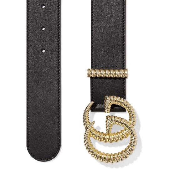 Gucci Torchon GG logo leather belt size 75 Image 2