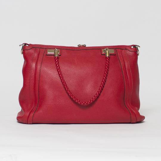 Gucci Bella Convertible 2-way Tote in Red Image 2