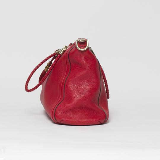 Gucci Bella Convertible 2-way Tote in Red Image 5