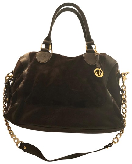 Preload https://img-static.tradesy.com/item/25557166/audrey-brooke-suede-and-leather-brown-chocolate-with-gold-trimmings-satchel-0-1-540-540.jpg