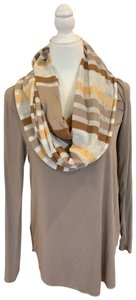 Unknown brown hues infinity scarf