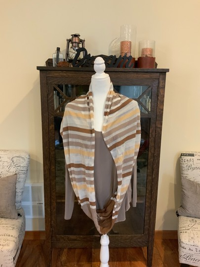 Unknown brown hues infinity scarf Image 1