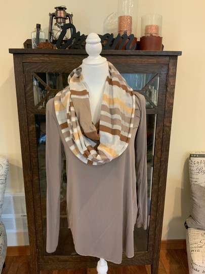 Unknown brown hues infinity scarf Image 2