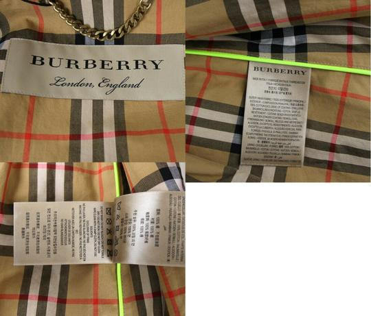 Burberry Stone Beige Men's Patent Canvas Trench Rain Coat 52/Us 42 4069171 Groomsman Gift Image 11