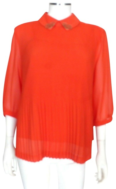 Ted Baker Top Coral Red Image 1