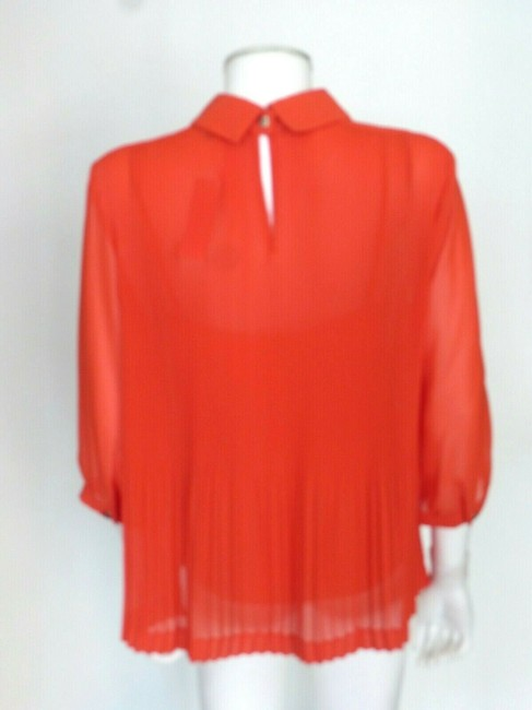 Ted Baker Top Coral Red Image 5
