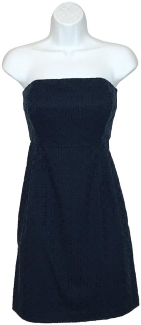 Preload https://img-static.tradesy.com/item/25557221/vineyard-vines-navy-blue-lace-strapless-short-casual-dress-size-0-xs-0-1-650-650.jpg