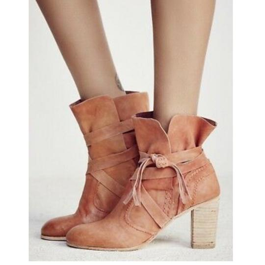 Free People brown Boots Image 1