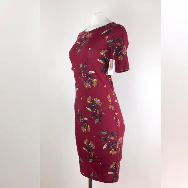 LuLaRoe short dress Maroon on Tradesy Image 1