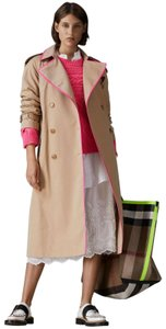 Burberry Canvas Trench Coat