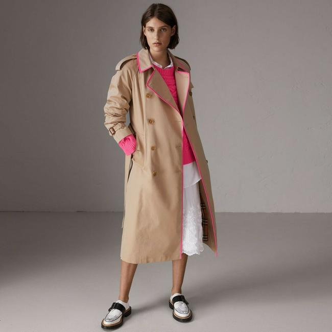 Burberry Canvas Trench Coat Image 1