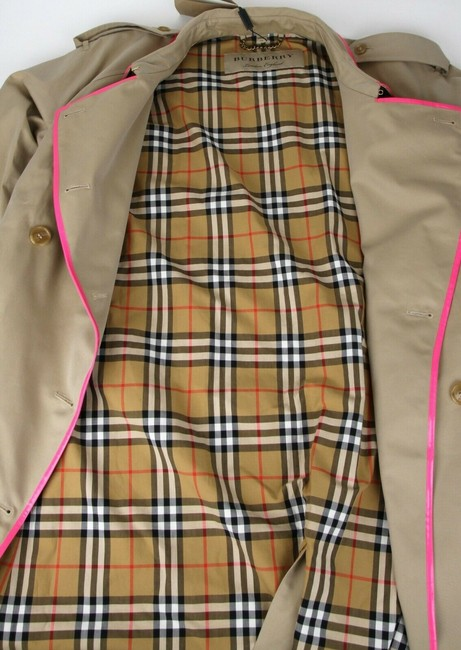 Burberry Canvas Trench Coat Image 10