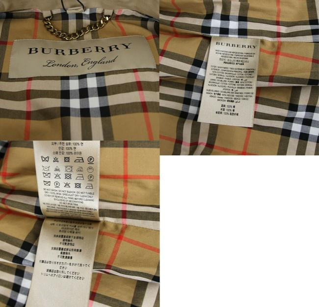 Burberry Canvas Trench Coat Image 11
