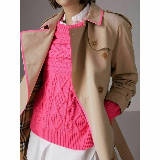 Burberry Canvas Trench Coat Image 3