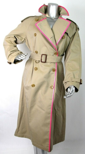 Burberry Canvas Trench Coat Image 4