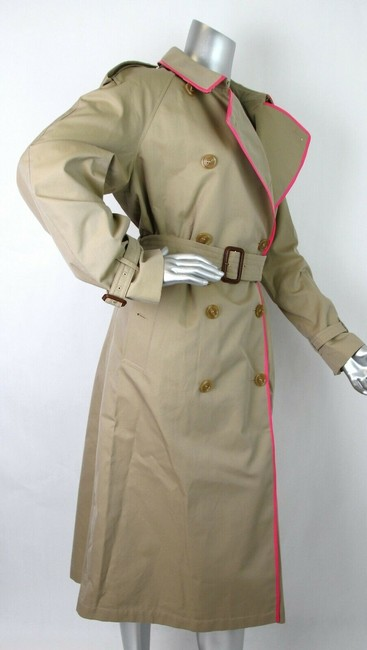 Burberry Canvas Trench Coat Image 5