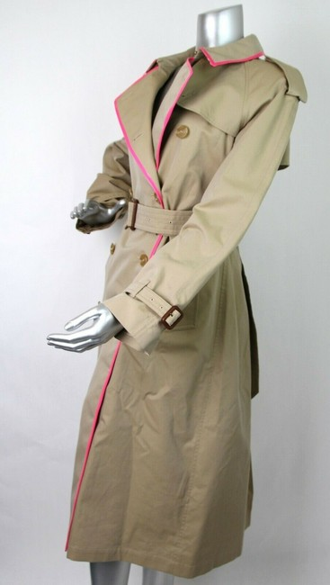 Burberry Canvas Trench Coat Image 6