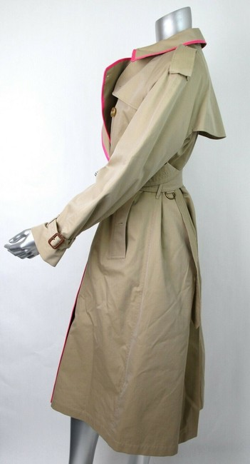 Burberry Canvas Trench Coat Image 7
