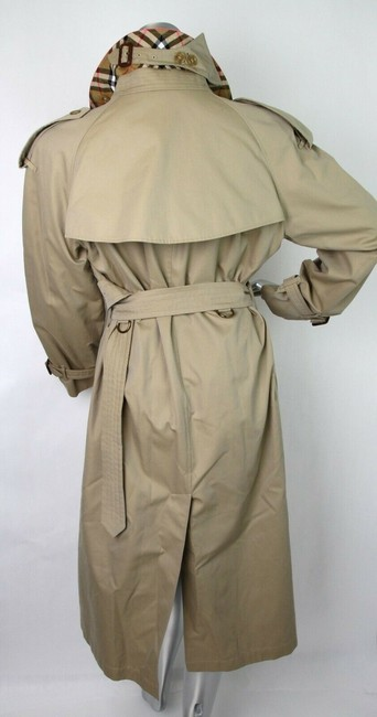 Burberry Canvas Trench Coat Image 8