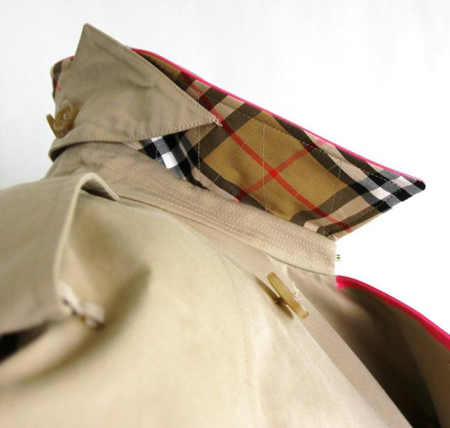 Burberry Canvas Trench Coat Image 9