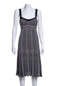 Missoni short dress Black and White on Tradesy