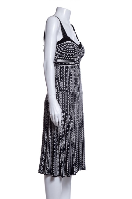 Missoni short dress Black and White on Tradesy Image 1