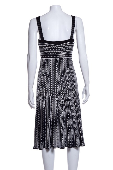 Missoni short dress Black and White on Tradesy Image 2