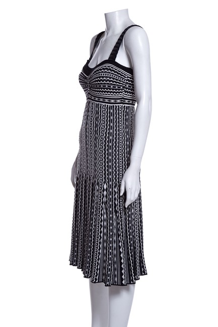 Missoni short dress Black and White on Tradesy Image 3