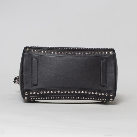 Givenchy Antigona Studded Tote in Black and White Image 2