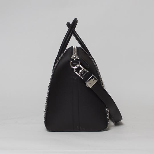 Givenchy Antigona Studded Tote in Black and White Image 3