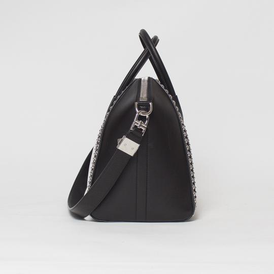 Givenchy Antigona Studded Tote in Black and White Image 4