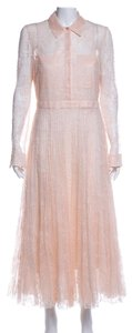 Peach Maxi Dress by Burberry