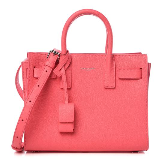 Preload https://img-static.tradesy.com/item/25557318/saint-laurent-sac-de-jour-pink-leather-satchel-0-0-540-540.jpg