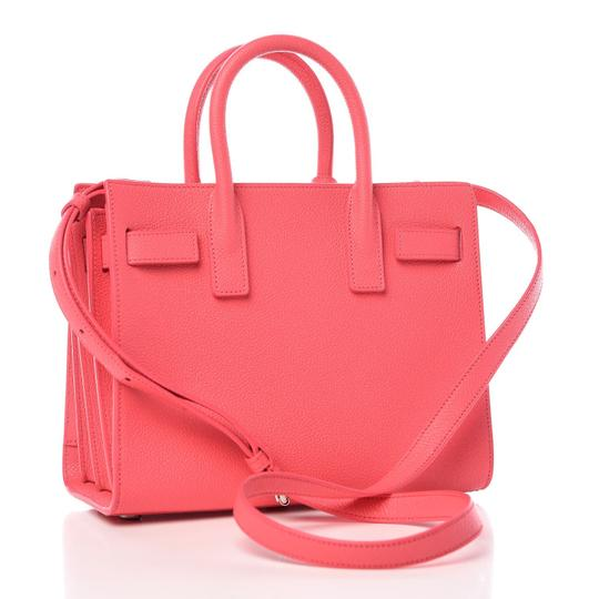 Saint Laurent Sac De Jour Nano Micro Micro-mini Satchel in Pink Image 1