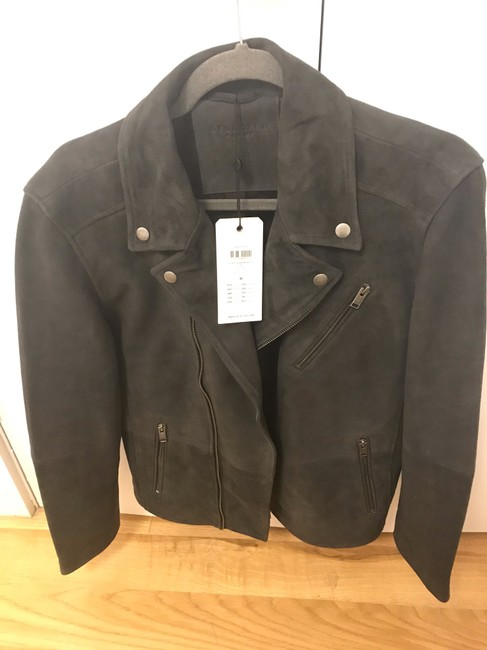 Selected Homme Leather Jacket Image 2