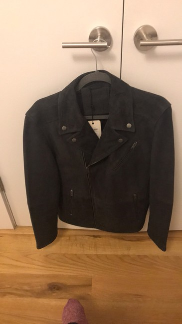 Selected Homme Leather Jacket Image 4