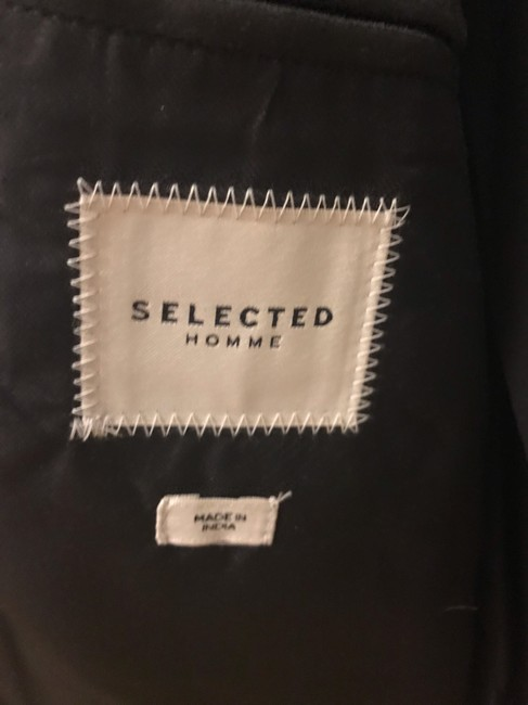 Selected Homme Leather Jacket Image 5