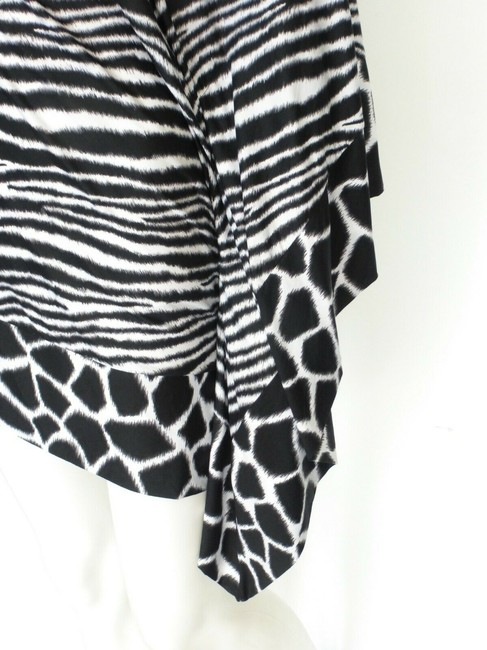 Michael Kors Black/White Animal Print Cover-up Sz Med-Lg Eu 42-46 Image 1