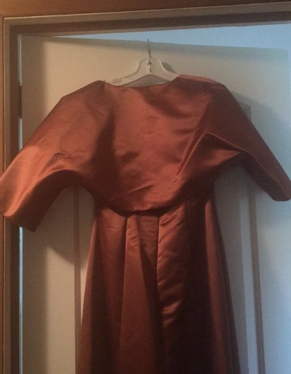 Copper Gown Formal Bridesmaid/Mob Dress Size 4 (S) Image 5