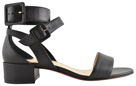 Preload https://img-static.tradesy.com/item/25557534/christian-louboutin-black-multipot-25-calf-leather-ankle-strap-strappy-heel-open-sandals-size-eu-36-0-1-540-540.jpg