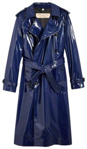 Burberry Women's Patent Canvas Trench Coat