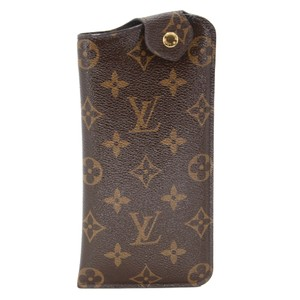 5410a65e7d57 Louis Vuitton Classic Monogram Coated Canvas Sunglasses Pouch Holder