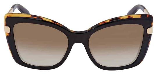 Preload https://img-static.tradesy.com/item/25557772/salvatore-ferragamo-black-havana-sf878s-006-round-sunglasses-0-1-540-540.jpg