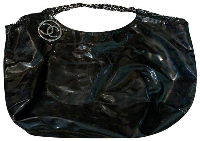 Item - Runway Black Patent Leather Tote