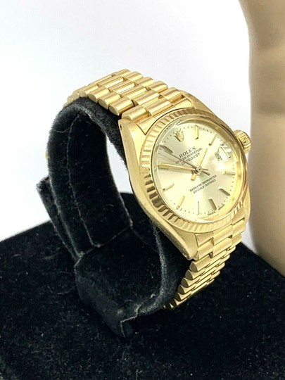 Rolex 1979 Rolex 6917 Ladies 18k Yellow Gold President Watch Oyster Datejust Image 11