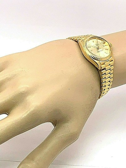 Rolex 1979 Rolex 6917 Ladies 18k Yellow Gold President Watch Oyster Datejust Image 2
