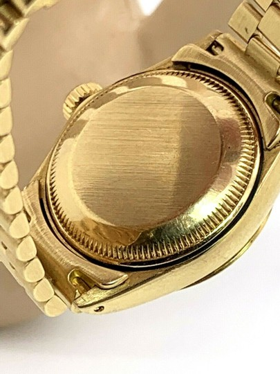 Rolex 1979 Rolex 6917 Ladies 18k Yellow Gold President Watch Oyster Datejust Image 4