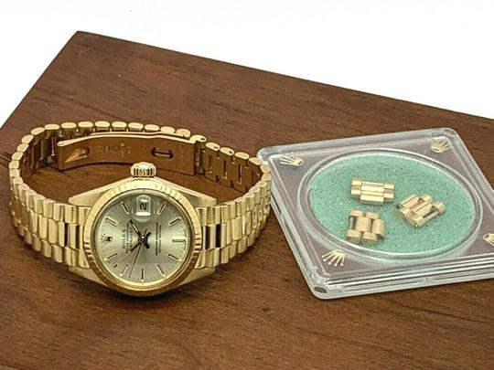 Rolex 1979 Rolex 6917 Ladies 18k Yellow Gold President Watch Oyster Datejust Image 6